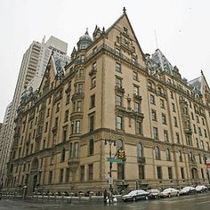 """The Dakota  Ever since """"Rosemary's Baby"""", I have been intrigued by this building"""