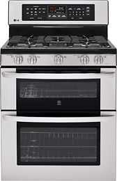 LG gas stove/convection double oven. When I have to buy one it will be like this!