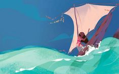 Moana and the Ocean | Annette Marnat