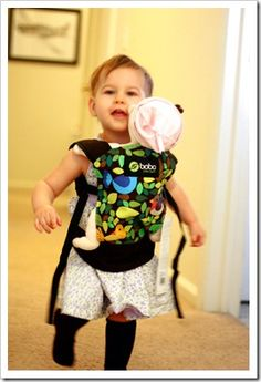 toy baby carrier