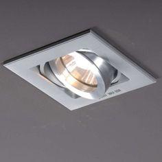 Einbaustrahler Quadro 1 Aluminium  #Topqualität #Designer #Einbaustrahler in einer tollen #modernen Form.