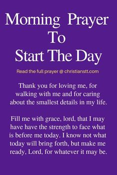 Uplifting Morning Prayers to Start the Day pin
