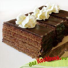 SACHER CUT Desserts, Food, Pies, Kuchen, Birthday, Tailgate Desserts, Deserts, Essen, Postres