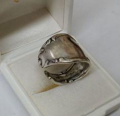 165 mm Besteckschmuck Silberbesteck Ring von BesteckschmuckBaron