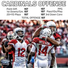 In other words, the Cardinals offense is pretty good. 12/10/2015