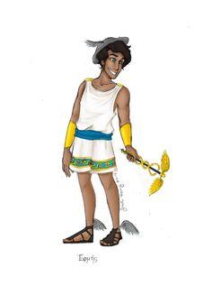 Greek God: Hermes by JadeAriel.deviant... on @deviantART
