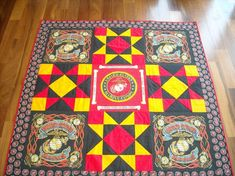 This would be a great idea for Jed - a USCG quilt...