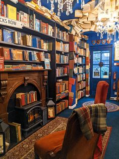 Gay Aesthetic, Book Aesthetic, Small Movie, Cosy Corner, Dream Library, Peak District, Book Nooks, Lounge Areas, Small Towns