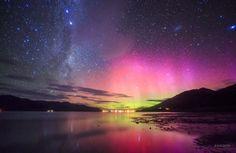 Aurora Australis - South Island, New Zealand
