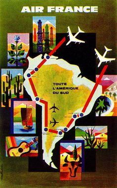 Air France Poster | von sandiv999