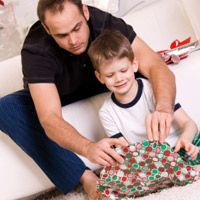 Gift giving time and opening presents - pinned by @PediaStaff – Please Visit  ht.ly/63sNt for all our pediatric therapy pins