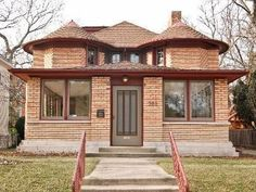 A seminal example of Wright's transition to Prairie-style architecture, the Furbeck House was finished in 1897. The interiors are largely unaltered, but a 1920 addition changed the outward appearance. Oak Park, IL