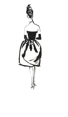 Balenciaga Evening Dress by Alfredo Bouret