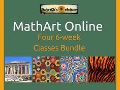 Krazy Kuehner Days: NatureGlo's eScience - MathArt Online 4-Class Bundle Review