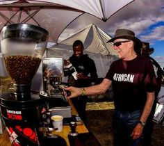 Without the Bean There Coffee Company crew it's debatable whether the cyclists would ever have emerged from their slumber every morning Mountain Bike Tour, Coffee Company, Cyclists, Troops, Wilderness, Over The Years, Africa, In This Moment, Children