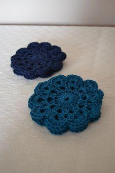 Princess Crafts: Quick crochet coasters 1893 pattern