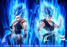 SuperSaiyan Blue Gogeta and Vegito by kapitanyostenk on DeviantArt