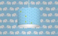 Leuchte Elephants, for him