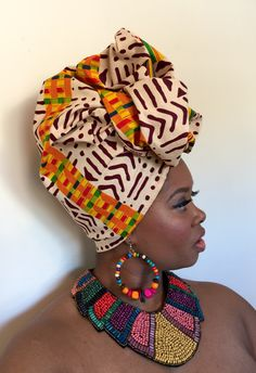 """The Crowned In Royalty """"Black Panther"""" collection ignores rules and supersedes boundaries. It celebrates the richness of African culture and celebrates virtue and bold individuality. This collection appeals to the one who knows her royalty and exudes it, African Hats, African Wear, African Dress, Tribal African, African Style, African Inspired Fashion, African Fashion, Black Power, Mode Turban"""