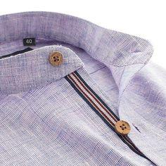 Subtle effortless style - The Saint! Fashion Details, Style Fashion, Mens Fashion, Italian Shirts, Bespoke Shirts, Classy Men, Dapper Men, Linen Trousers, Formal Shirts