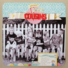 Cousins  {Studio Calico Handmade november kit}