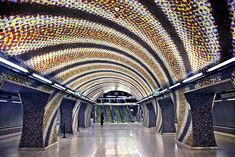 'Szent Gellert Ter Metro Station - Budapest' by Hercules Milas Budapest, Glasgow Subway, Stockholm Metro, Tokyo Rose, Tokyo Subway, Weird Facts, Strange Facts, Metro Station, London Underground