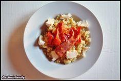 ❤ Pâtes à la tomate, gingembre, ail, fromage et jambon ❤