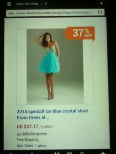 Light Blue Formal Dress 8