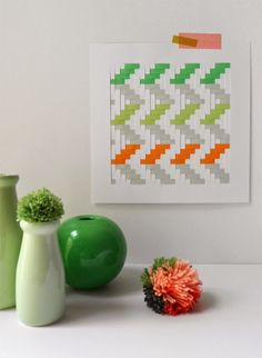 Woven+Paper+Wall+Art+Tutorial