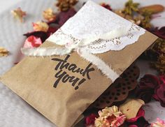 thank you gift bags..adorable!