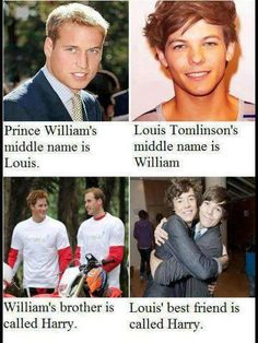 Illuminati confirmed!! Harry and Louis are royalty!!!!