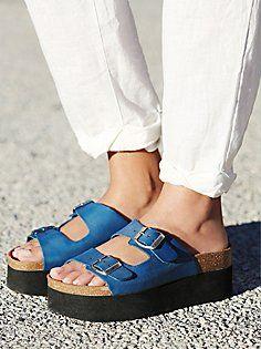 Paige Platform Footbed