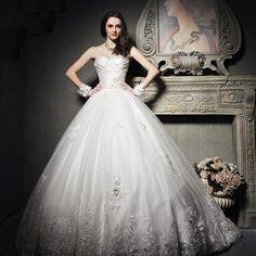 Beautiful princess wedding dress!