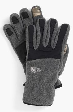 The North Face 'E-Tip Denali' Fleece Gloves