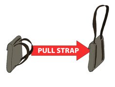 THE BAG-TO-BAG --------  Just pull a strap to convert it from backpack to messenger-bag. And back. In just a second. A new approach to bags! featured