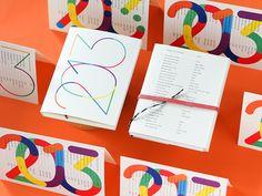 Calendar, book, pocket, Taschenkalender by Adrian Meseck Pocket Calendar, Print Calendar, Kids Calendar, Brochure Design Inspiration, Book Design Layout, Design Poster, Print Design, Branding Design, Logo Design