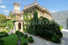 Villa Erba located in Lake Como is the perfect choice for a sophisticated and refined luxury wedding in Italy.