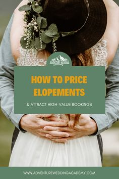 Want to shoot more elopements?  Make sure you have a pricing guide that demonstrates your expertise and value. Photography Branding, Photography Business, Who Book, Industrial Wedding, Elopements, Fotografie, Professional Photography