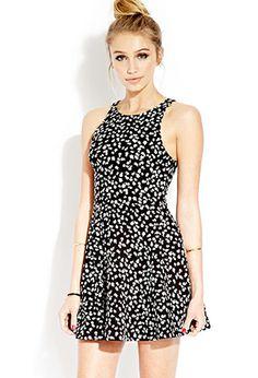 Dainty Blossom Skater Dress   FOREVER21 - 2000064433 #F21CRUSH