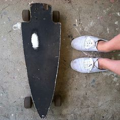 What happens when Dad backs up over your board with his pickup? Just saw off the back half and move up the trucks and you have an awesome arrowhead board. Birkenstock Boston Clog, Clogs, Dads, Trucks, Shit Happens, Awesome, Board, Life, Fashion