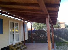 Porches, garajes, marquesinas. - Pergojardin - decoracion exterior de madera, pergolas, porches y cenadores
