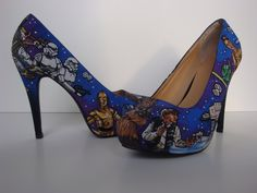 Star Wars Heels For All You Geeky Girls  i love it