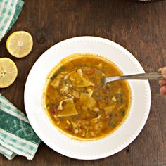 Dal Dhokli - A lentil soup with fresh, homemade wholewhat pasta/dumplings. A warm and comforting one pot meal from Gujrat, India