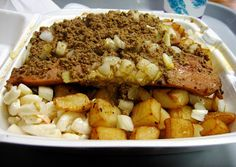"The ""Garbage Plate""... must visit upstate NY!"