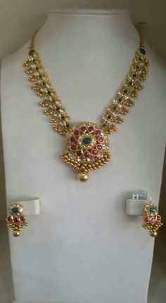 diamond or gold or silver or a platinum wedding ring Gold Necklace Simple, Gold Jewelry Simple, Stylish Jewelry, Gold Earrings Designs, Gold Jewellery Design, Gold Designs, India Jewelry, Kerala Jewellery, Jewelry Patterns
