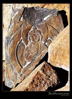 Buddha Prayer Stones. Tibet