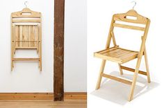 Oilvia folding wooden chair