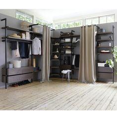 dressing pas cher et tendance etagere pour chaussure barre de penderie et querre. Black Bedroom Furniture Sets. Home Design Ideas