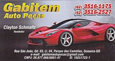 Eu recomendo Gabitem Auto Peças- Parque das Camélias, #Goianira, #Goiás, #Brasil