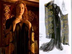 Kimono, Rose figurino Titanic (costume). Kate winslet